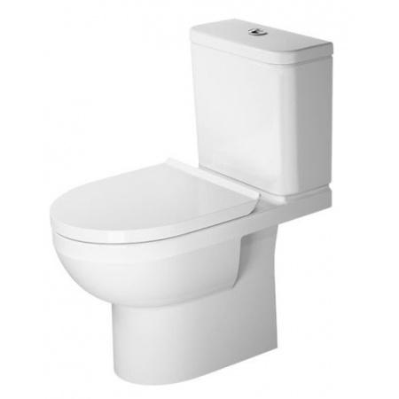Duravit Durastyle Basic Toaleta WC kompaktowa 65,5x36,5 cm Rimless bez kołnierza, biała 2183090000