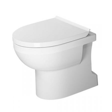 Duravit Durastyle Basic Toaleta WC stojąca 56x37 cm Rimless bez kołnierza odpływ pionowy, biała 2184010000