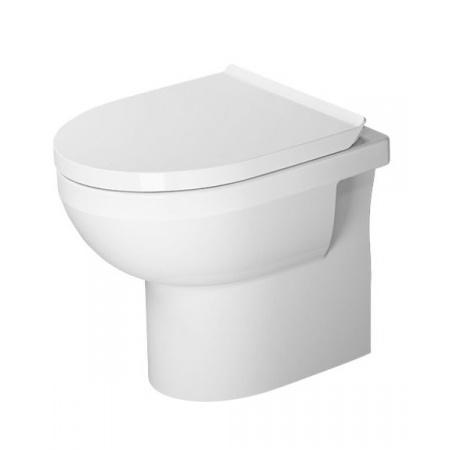 Duravit Durastyle Basic Toaleta WC stojąca 48x37 cm Rimless bez kołnierza odpływ poziomy, biała 2184090000