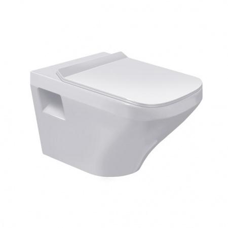 Duravit DuraStyle Miska WC podwieszana 37x54 cm, lejowa, biała z powłoką WonderGliss 25360900001