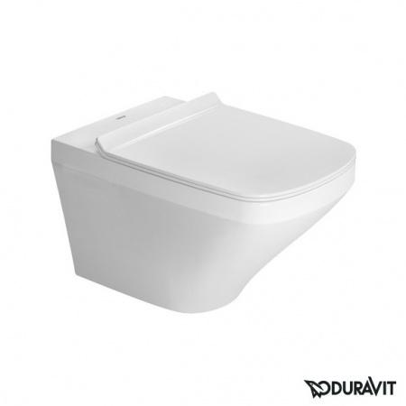 Duravit DuraStyle Miska WC podwieszana Rimless 37x54 cm, lejowa, biała z powłoką WonderGliss 25510900001