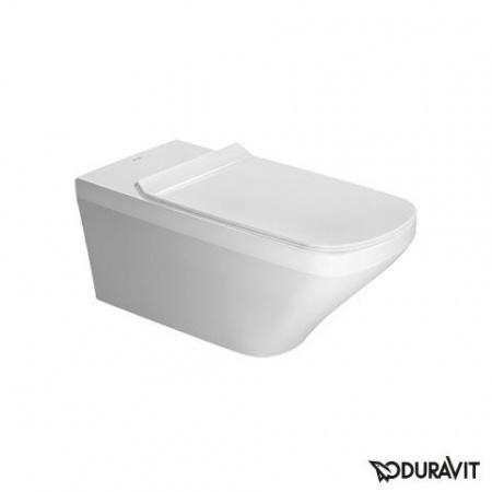 Duravit DuraStyle Miska WC podwieszana Vital Rimless 37x70 cm, lejowa, biała z powłoką WonderGliss 25590900001