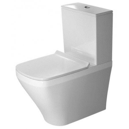 Duravit DuraStyle Miska WC stojąca 37x63 cm, lejowa, biała z powłoką WonderGliss 21550900001