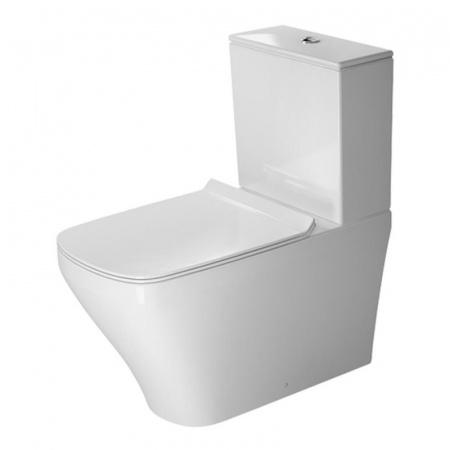 Duravit DuraStyle Miska WC stojąca 37x70 cm, lejowa, biała 2156090000