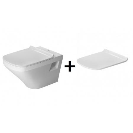 Duravit DuraStyleZestaw Toaleta WC podwieszana 54x37 cm z deską sedesową wolnoopadającą, biały 2536090000+0063790000