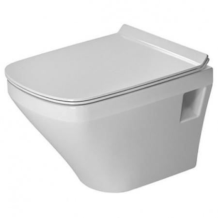 Duravit DuraStyle Toaleta WC podwieszana 48x37 cm Compact krótka Rimless bez kołnierza, biała 2571090000