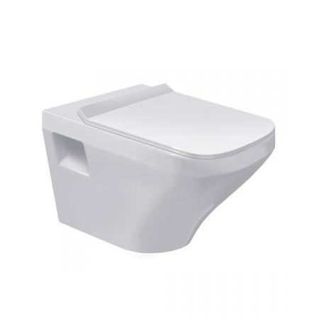 Duravit DuraStyle Toaleta WC podwieszana 54x37 cm Rimless bez kołnierza HygieneGlaze, biała 2538092000