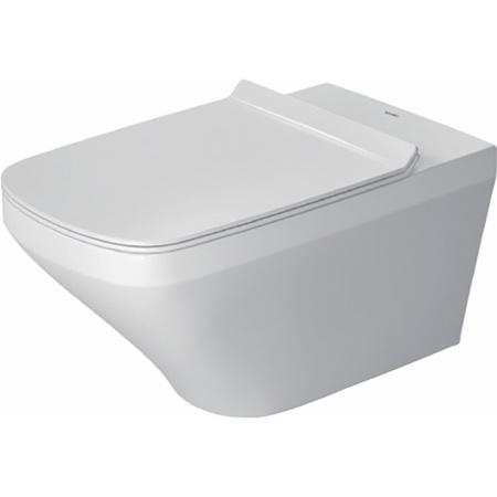 Duravit DuraStyle Toaleta WC podwieszana 62x37 cm Rimless bez kołnierza HygieneGlaze, biała 2542092000