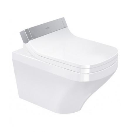 Duravit DuraStyle Toaleta WC podwieszana 62x37 cm Rimless bez kołnierza HygieneGlaze, biała 2542592000