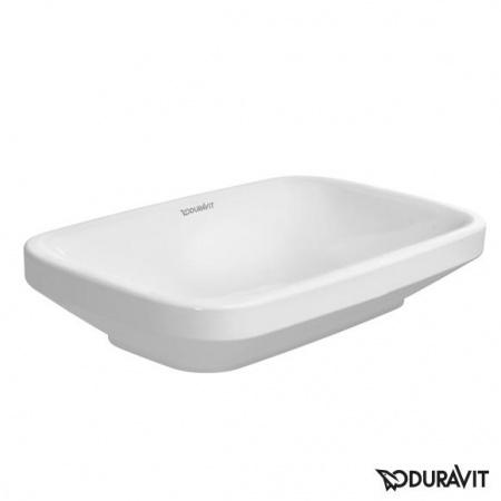 Duravit DuraStyle Umywalka szlifowana 60x38 cm, bez przelewu, bez otworu na baterię, biała 0349600000