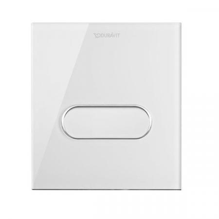 Duravit DuraSystem Przycisk spłukujący A1 do pisuaru szklany, biały WD5005012000