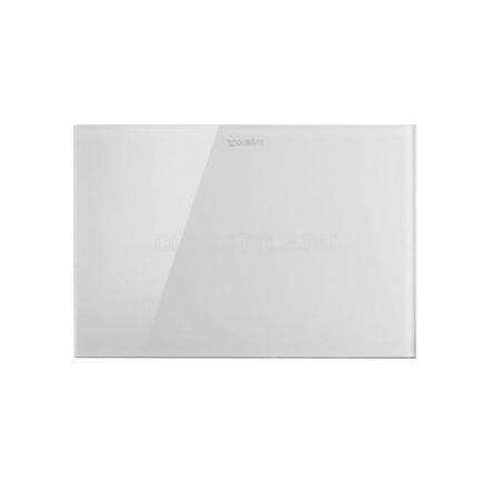 Duravit DuraSystem Przycisk spłukujący A2 do WC bezdotykowy szklany, biały WD5003012000