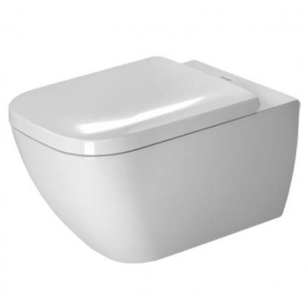 Duravit Happy D.2 Toaleta WC podwieszana 54x36,5 cm z powłoką WonderGliss, biała 22210900001