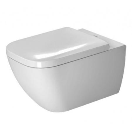 Duravit Happy D.2 Toaleta WC podwieszana 54x36,5 cm Rimless bez kołnierza z powłoką WonderGliss, biała 22220900001