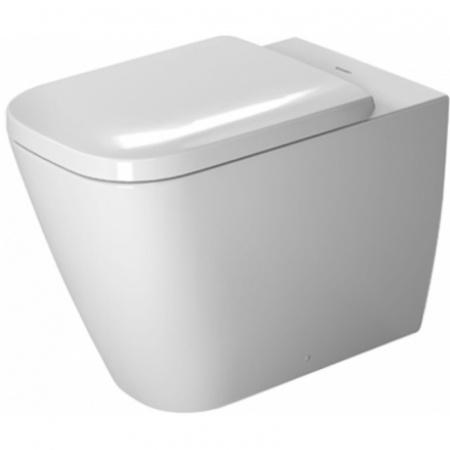 Duravit Happy D.2 Miska WC stojąca 57x36,5 cm z powłoką WonderGliss, biała 21590900001