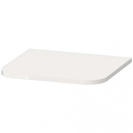 Duravit Happy D.2 Plus Osłona do słupka wiszącego 40,3x36,4 cm, biała wysoki połysk HP030002222