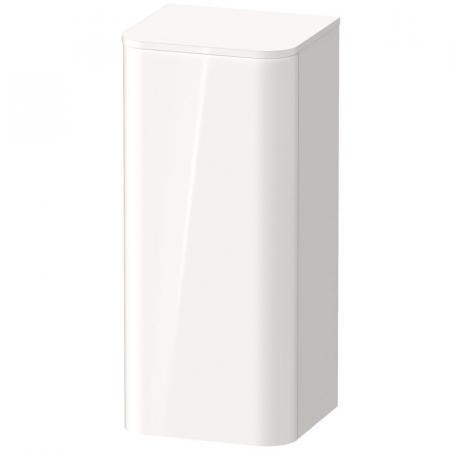 Duravit Happy D.2 Plus Słupek wiszący 40x36x88 cm, biały wysoki połysk HP1260L2222