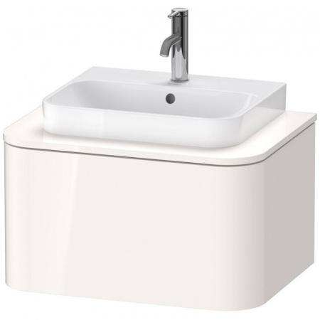 Duravit Happy D.2 Plus Szafka umywalkowa 65x48x35,4 cm, biały wysoki połysk HP494002222