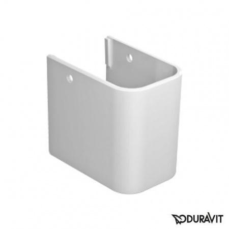 Duravit Happy D.2 Półpostument, biały z powłoką WonderGliss 08582800001