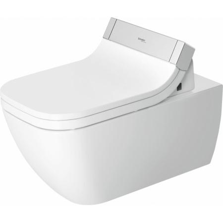 Duravit Happy D.2 Toaleta WC podwieszana 62x36,5 cm Rimless bez kołnierza HygieneGlaze, biała 2550592000