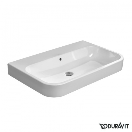 Duravit Happy D.2 Umywalka meblowa 80x50,5 cm bez otworu na baterię z przelewem biała 2318800028
