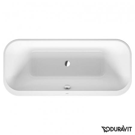Duravit Happy D.2 Wanna prostokątna do wbudowania 180x80 cm, biała 700320000000000