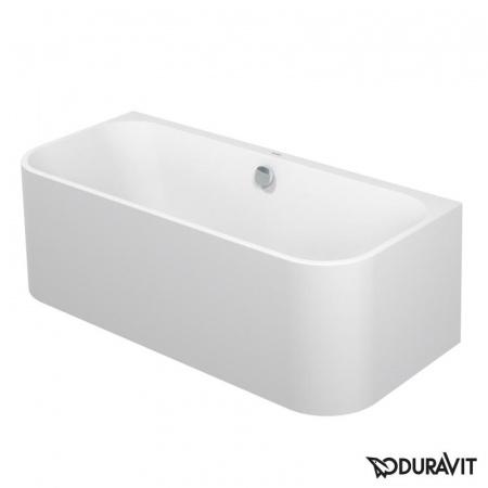Duravit Happy D.2 Wanna prostokątna przyścienna 180x80 cm, biała 700318000000000