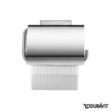 Duravit Karree Uchwyt na papier toaletowy, chrom 0099551000