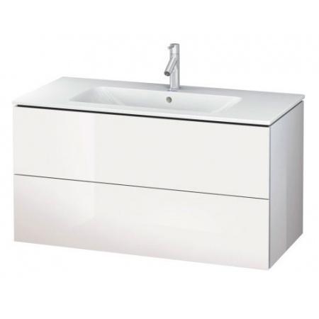 Duravit L-Cube Szafka podumywalkowa 102x48,1 cm wisząca 2 szuflady, biały połysk LC624208585