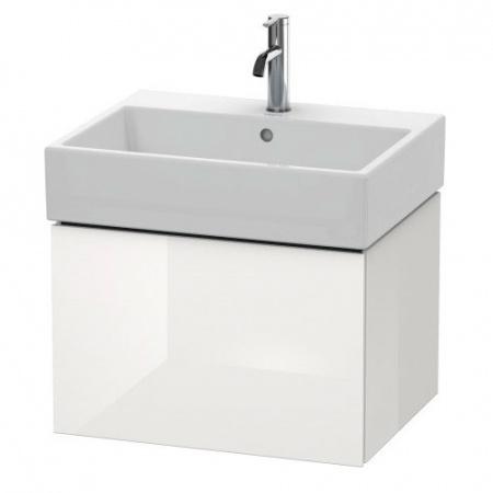 Duravit L-Cube Szafka umywalkowa 58,4x45,9x39,4 cm, biała wysoki połysk LC617502222