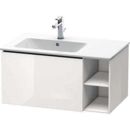 Duravit L-Cube Szafka umywalkowa 82x48,1x40 cm, biała wysoki połysk LC619102222