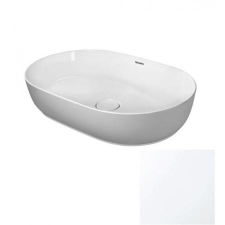 Duravit LUV Umywalka nablatowa 60x40 cm szlifowana, biały mat 0379602600