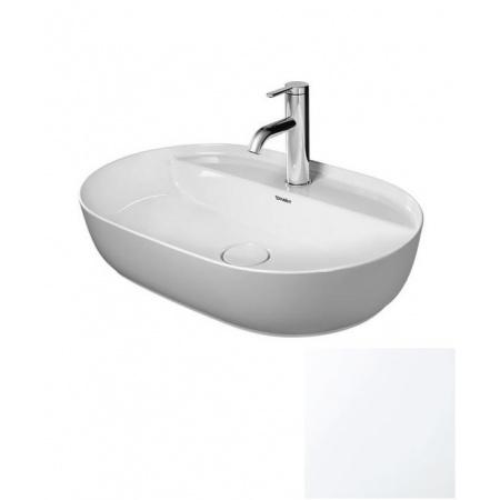 Duravit LUV Umywalka nablatowa 60x40 cm szlifowana, biały mat 0380602600