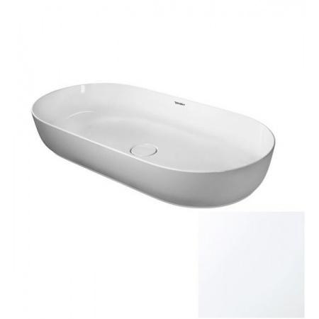 Duravit LUV Umywalka nablatowa 80x40 cm szlifowana, biały mat 0379802600