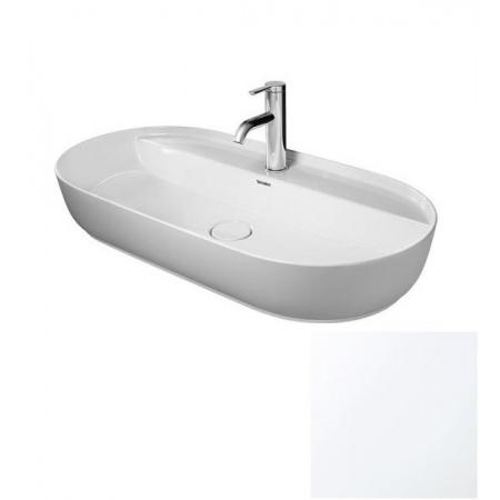 Duravit LUV Umywalka nablatowa 80x40 cm szlifowana, biały mat 0380802600