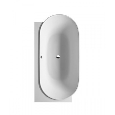 Duravit LUV Wanna owalna narożna 185x95 cm lewa, biała 70043100000000