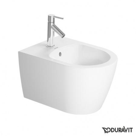 Duravit ME by Starck Bidet podwieszany 37x48 cm Compact krótki, biały 2290150000