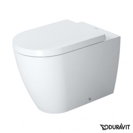 Duravit ME by Starck Miska WC stojąca 37x60 cm, lejowa, biała z powłoką WonderGliss 21690900001