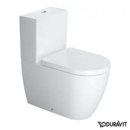 Duravit ME by Starck Miska WC stojąca 37x65 cm, lejowa, biała z powłoką WonderGliss 21700900001