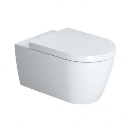 Duravit ME by Starck Toaleta WC podwieszana 57x37 cm Rimless bez kołnierza, biała 2529090000