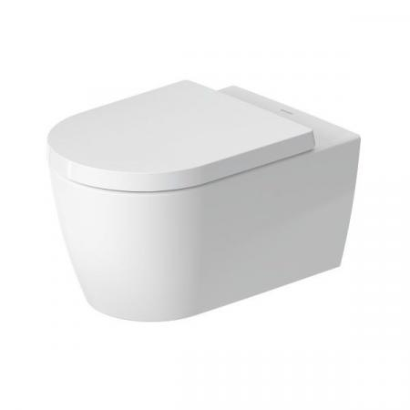 Duravit ME by Starck Toaleta WC 57x37 cm bez kołnierza HygieneFlush z powłoką biały jedwabny mat 2579099000