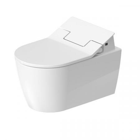 Duravit ME by Starck Toaleta WC do SensoWash 57x37 cm bez kołnierza HygieneFlush z powłoką biała 2579592000