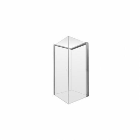Duravit Open Space Kabina kwadratowa 80x80x205 cm profile chrom szkło przezroczyste 770001000010000