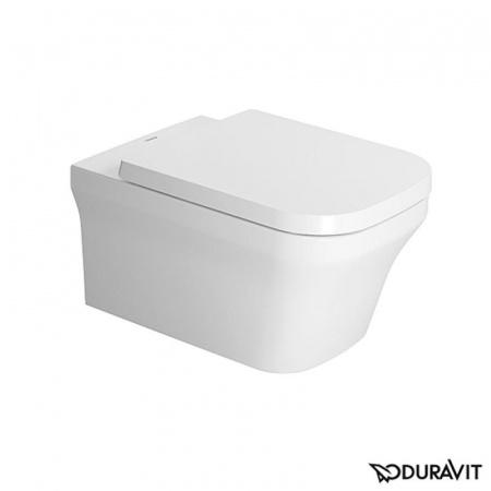 Duravit P3 Comforts Toaleta WC podwieszana 38x57 cm Rimless bez kołnierza z HygieneGlaze, biała 2561092000