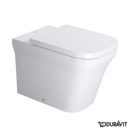 Duravit P3 Comforts Miska WC stojąca 38x60 cm Rimless, lejowa, biała 2166090000