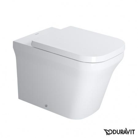 Duravit P3 Comforts Miska WC stojąca 38x60 cm Rimless, lejowa, biała z powłoką WonderGliss 21660900001