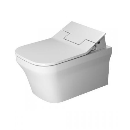 Duravit P3 Comforts Toaleta WC podwieszana 57x38 cm Rimless bez kołnierza z powłoką Wondergliss, biała 25615900001
