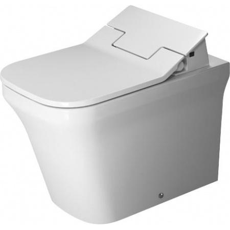 Duravit P3 Comforts Toaleta WC stojąca 60x38 cm Rimless bez kołnierza z powłoką Wondergliss, biała 21665900001