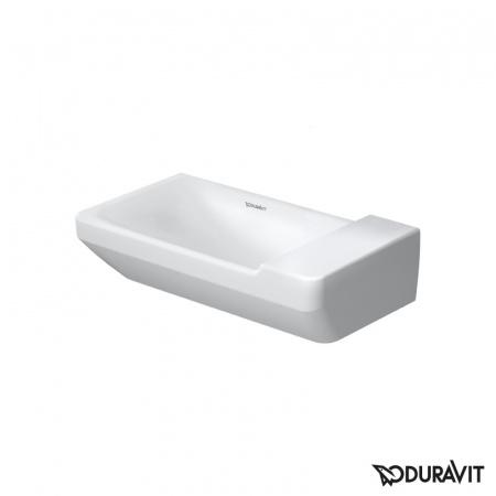 Duravit P3 Comforts Umywalka mała 50x26 cm bez otworu i przelewu, biały 0715500070