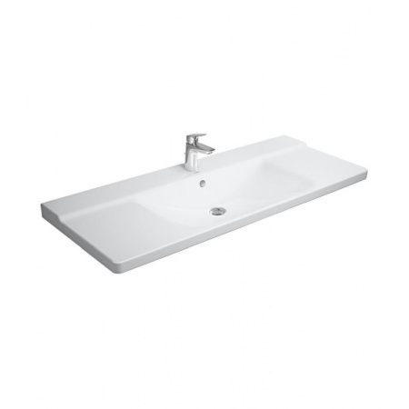 Duravit P3 Comforts Umywalka meblowa 125x49,5 cm biała 2332120000